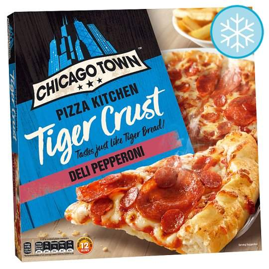 12 Price Chicago Town Tiger Crust Pepperoni Roasted