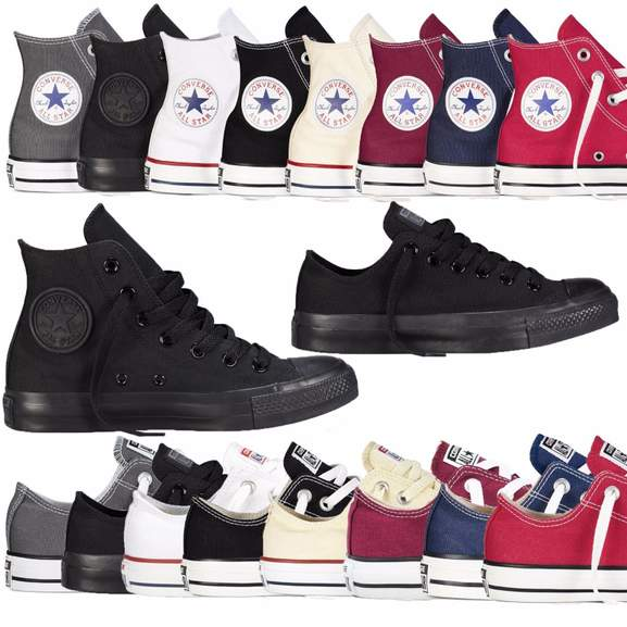 4df582fcadb6 Converse Unisex Chuck Taylor Classic Colour All Star Hi   Lo Tops ...