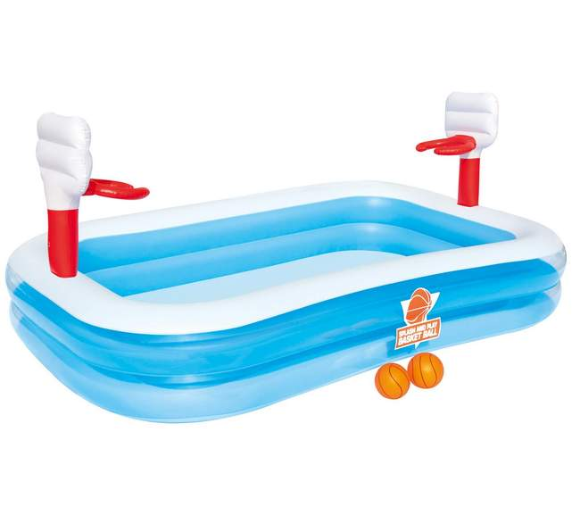 Bestway basketball play paddling pool was 30 now 20 free for Paddling pool heater