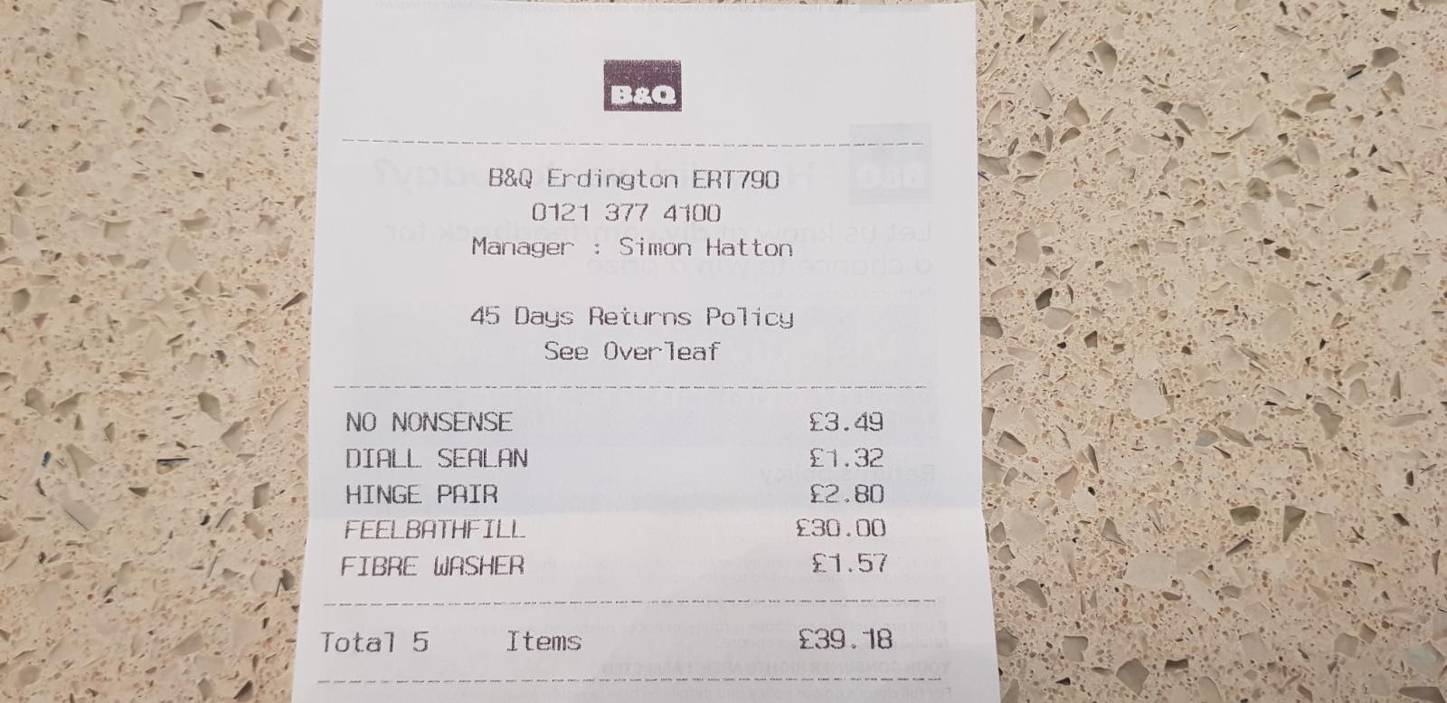 Grohe Get Chrome Finish Bath Filler Tap - £30 instore @ B&Q
