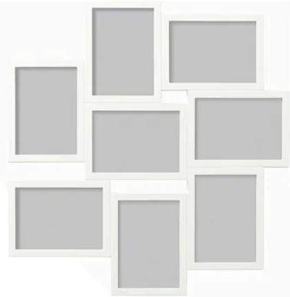 b994387b191 VÄXBO Collage frame for 8 photos for £5 with Family Card   IKEA ...