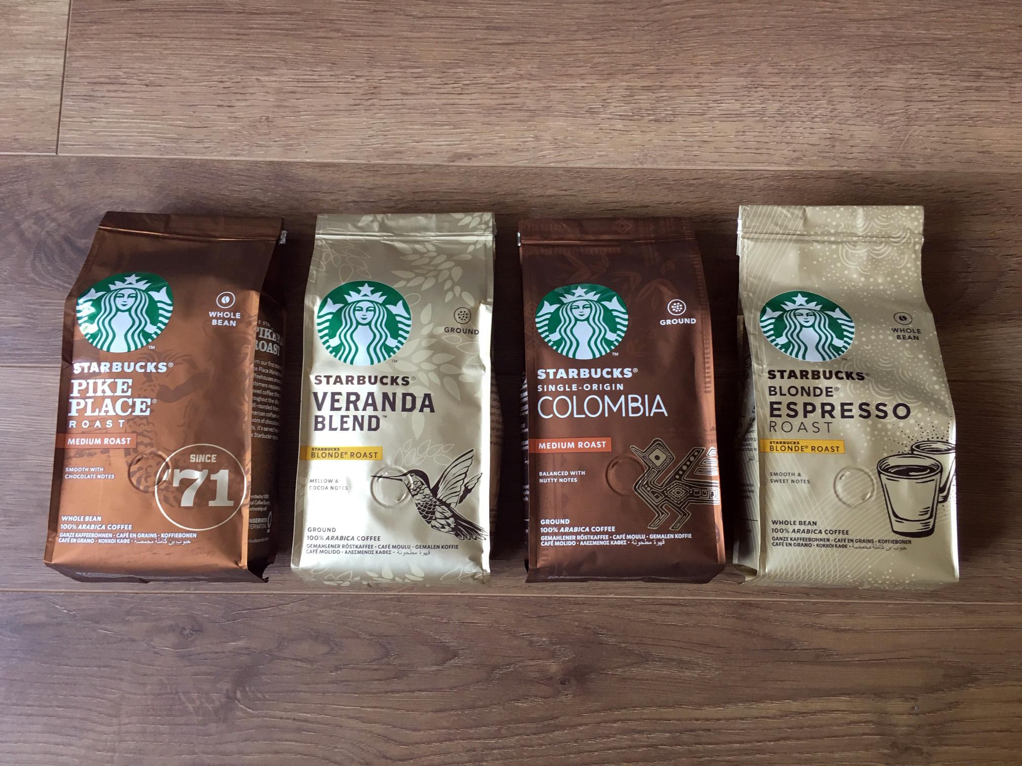 Starbucks Blend Ground Coffee Or Beans 200g Bags 2 Each