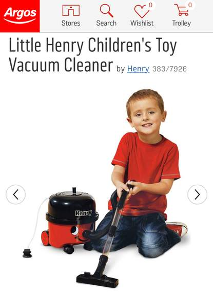 This Is A Fantastic Replica Of The Much Loved Multi Purpose Vacuum Little Henry Toy Cleaner Will Surely Keep Your One Busy For Hours