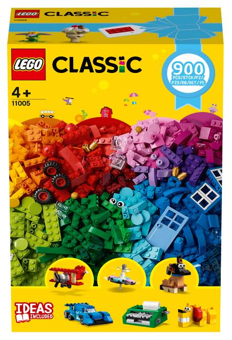 LEGO Classic Creative Fun 11005 - 900 pieces for £18
