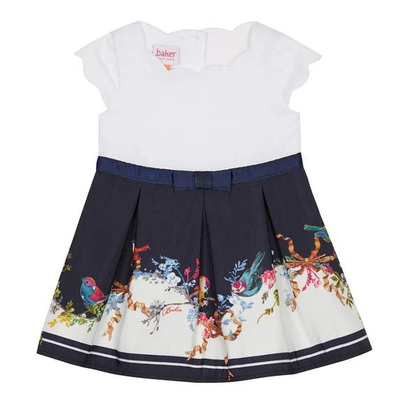 1033204d6 Ted Baker Baby Girls  Bird Print Dress (was £32) Now £16 + 50% Off more Baby    Kids Clothing + Free Delivery at Debenhams