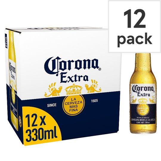 12 x 330ml Corona Extra Beer £8 @ Tesco - hotukdeals