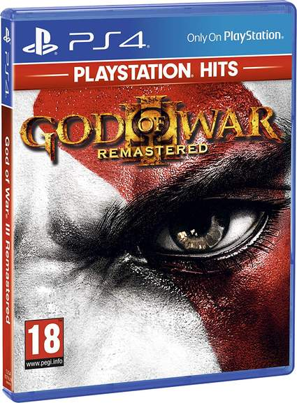 NIOH/God of War III Remastered PlayStation Hits (PS4) for £11 99