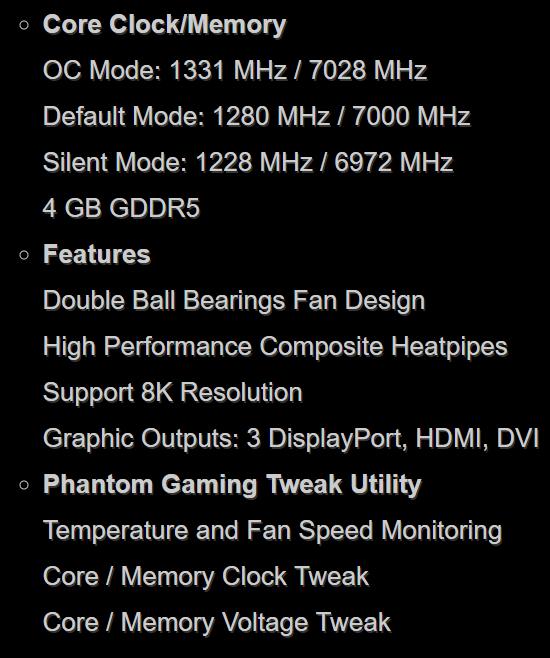 Asrock Radeon RX 570 Gaming Dual 4GB GDDR5 Graphics Card £119 89 at