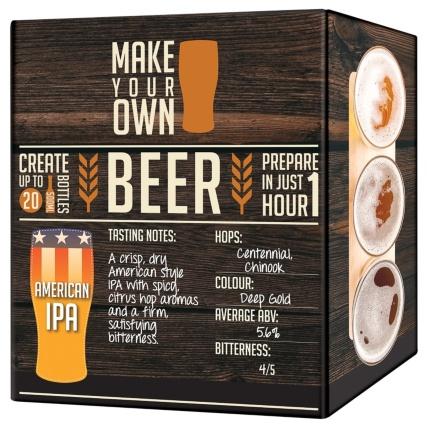 Make Your Own Beer Gift Set £7 99 (Makes 20 x 500ml bottles