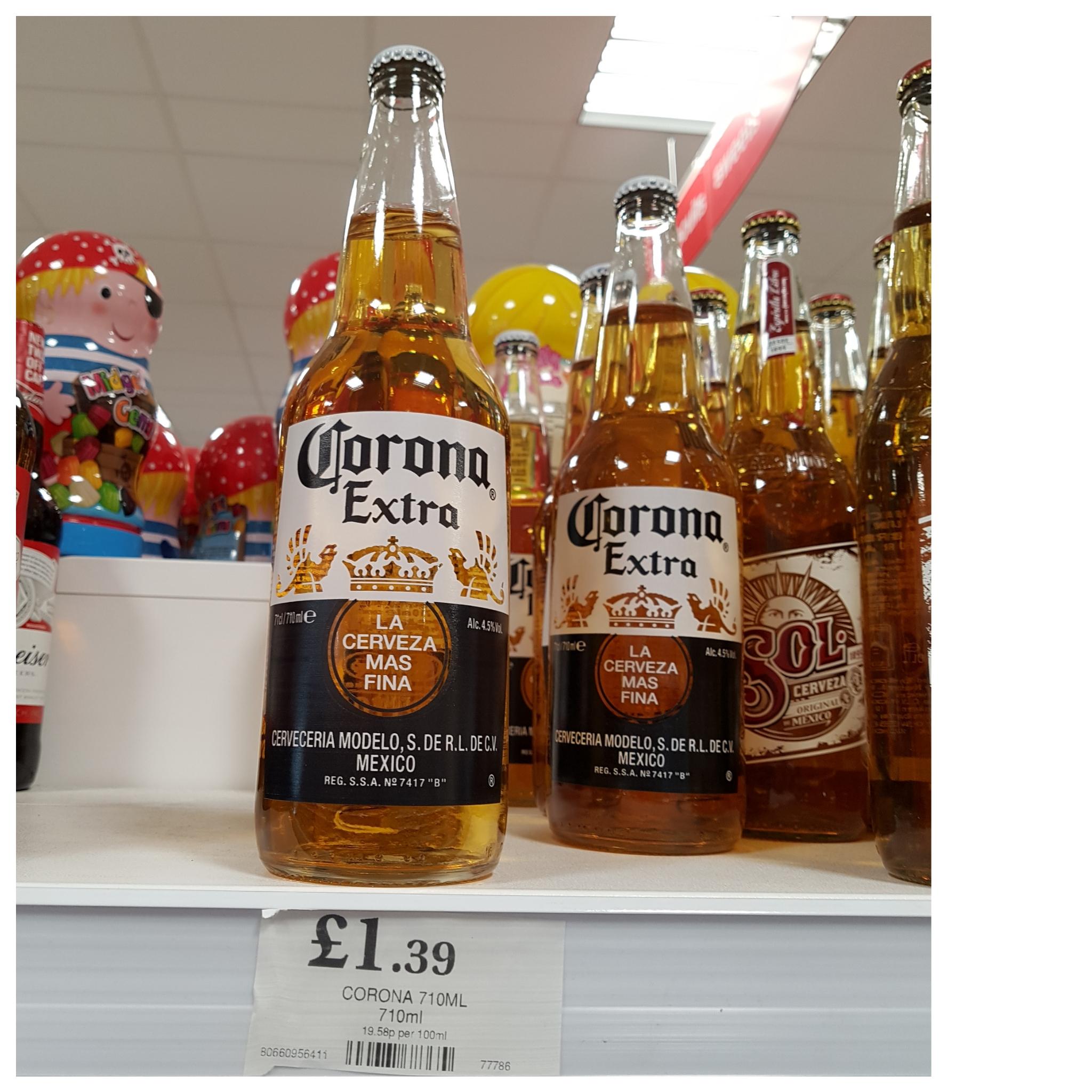 Corona Extra 710ml bottle £1 39 @ Home Bargains - hotukdeals