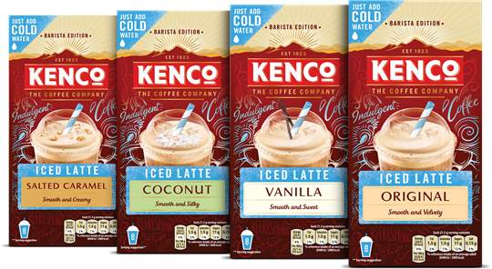 Half Price Kenco Iced Coffee 8 Sachets For 125 At Tesco