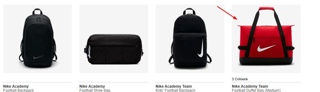 3ac269ddf0f9 Nike Academy Team - Football Duffel Bag in 3 colours (Medium) £11.97 ...