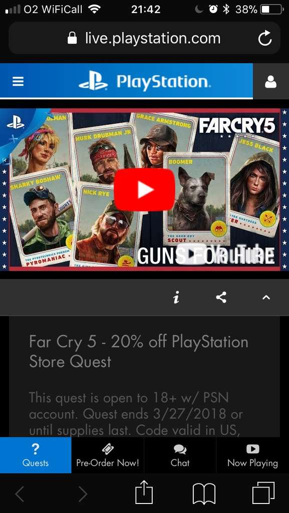 20% off discount code for PlayStation PSN Store US and Canada ...