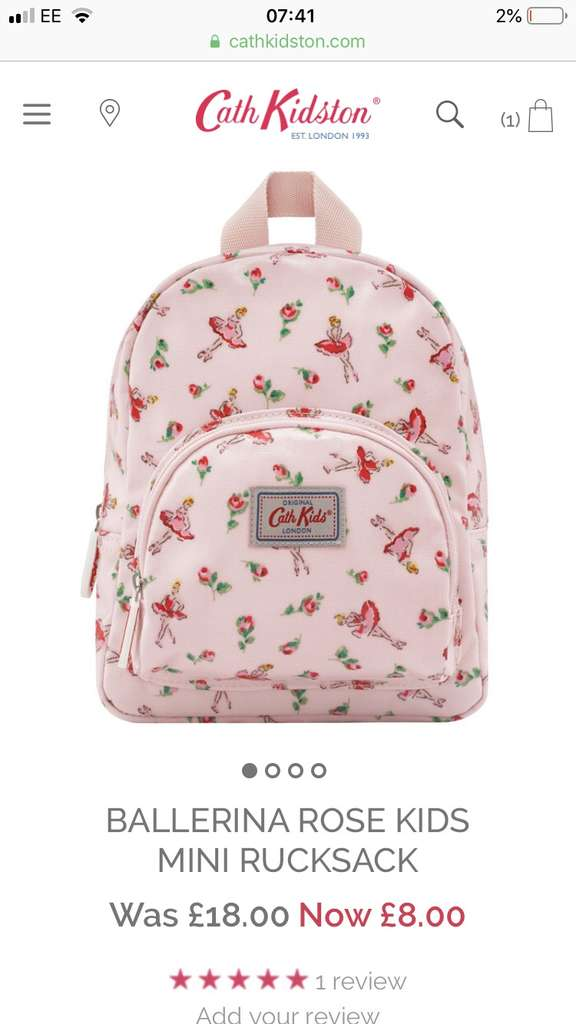 Cath Kidston 50% off sale. Free delivery over £40 or £3.95 - eg ... 824b1be944015