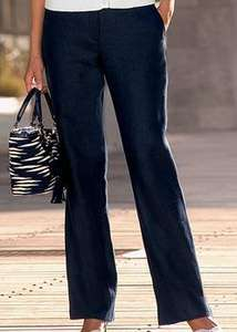 Womens Classic Straight Leg Trousers - £9.95 Delivered @ Rowlands Clothing