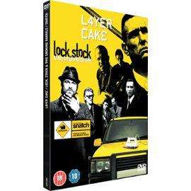 Layer Cake/Snatch/Lock, Stock, And Two Smoking Barrels - Box Set DVD - £2.92 Delivered @  Priceminister/Gzoop