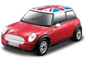 'Mini Cooper' model car 1:43 £1.35 delivered @ Debenhams