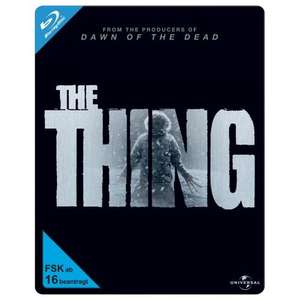 The Thing 2011 Blu ray steelbook £12.58 delivered at Grooves-inc