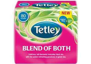 Free sample of Tetley's Blend of Both (facebook)