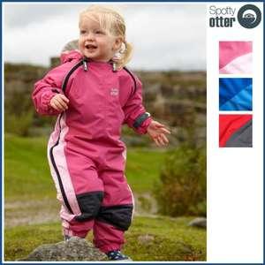 Spotty Otter Fleece Lined Splashsuit £33.34 Delvered @ Little Trekkers (use code JUBILEEPARTY - 30% off)