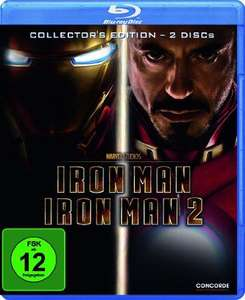 Iron man & Iron Man 2 Blu Ray Double Pack £13.23 delivered @ Grooves-Inc.co.uk