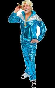 Shell Suit BLUE £34.99 @ Jokers' Masquerade