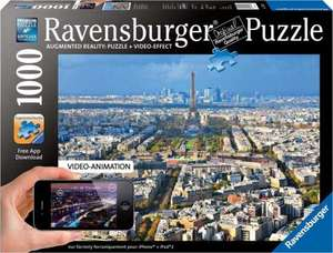 Augmented reality - above the roofs of Paris jigsaw  puzzle £12.99 @thehobbywarehouse