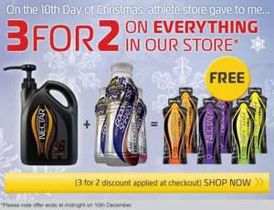 Athletestore three for two instore