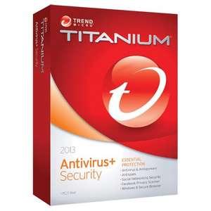 FREE Trend Micro Titanium Antivirus+ 2013
