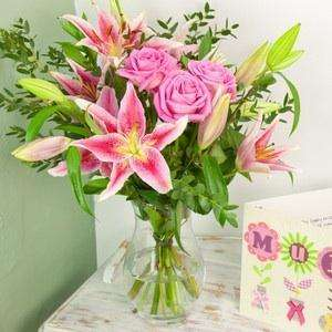 Mothers Day Roses & Lillies  & Chocolates. Was £31.70. Now £23.63. (Using code). Free  Delivery @ iflorist