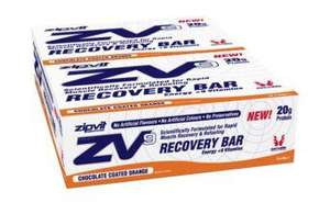 ZV9 PROTEIN RECOVERY BAR 20g PROTEIN PER BAR 30 FOR £24.75 @ Zipvit