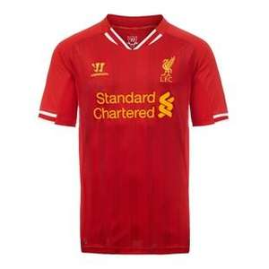 Free T shirt & a chance to win a Holiday when you Preorder LFC Home Shirt  13/14 @£45
