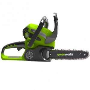 Greenworks 40v 30cm Cordless Chainsaw (2012 Model) R.R.P: £299.95 - £49.95 delivered at Mow direct