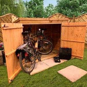bike shed - £99.49 @ Garden Buildings Direct