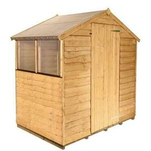6x4 Billy0h 20 wooden shed + upgraded floor and 6% Quidco delivered £119 @ Garden Buildings Direct