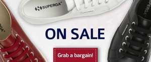 SUPERGA SHOES FROM 12.50