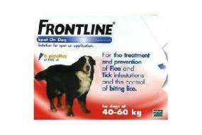 Cheap XL Dog - Frontline Flea Treatment + Others - £29.82 @ animeddirect