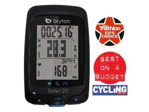 Bryton Rider 20E GPS Unit 50% off  £49.99 @ fawkes-cycles