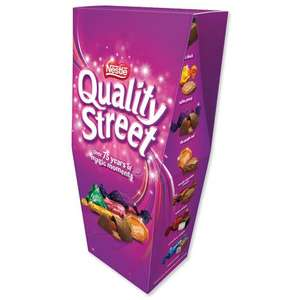 Nestle quality street box chocolate 350g for £1 in Asda with coupon