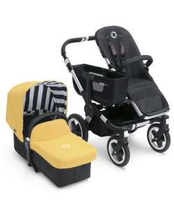 Bugaboo donkey limited edition sunny gold tailored fabric £50 free delivery! @ Mothercare