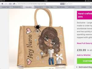 Clairabella bags medium and large 50% off making them £19.99 plus £2.99pp @ Toxicfox