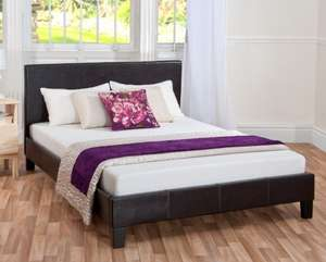 Essentials Double Bed And Mattress Deal £179.99 @Memoryfoamwarehouse.co.uk