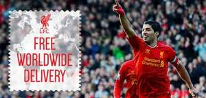 Free Worldwide Delivery @ Liverpool FC