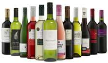 12 Bottles Red/White/Mixed Wine + Free Bottle Pink Fizz and Free Delivery - £49.99 (Rude Wines!)