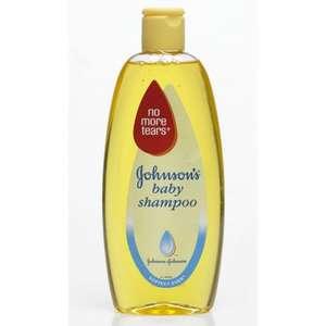 Johnson's Baby Shampoo (No More Tears) (300ml) was £1.69 now 84p @ Wilko
