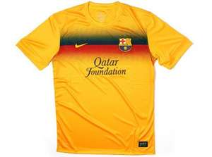 Nike FC Barcelona Pre-match Shirt LESS THAN HALF PRICE £13.48 Delivered @ Lovellsoccer.co.uk