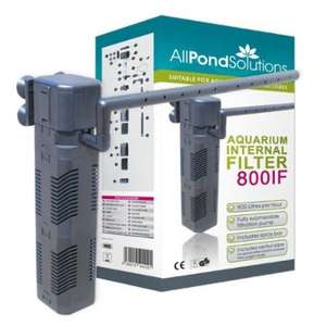 Internal Fish Tank Filter Pump  £14.99 @ Amazon sold by All Pond Solutions - 800 LPH