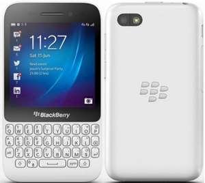 Sim-Free Blackberry Q5 (White), Pre order £129.95 from Carphone Warehouse