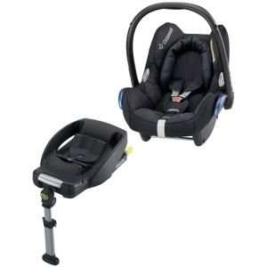 Maxi-Cosi Cabriofix With Easyfix Base Total Black 2014 for £192.49 @ Baby and Toddler World