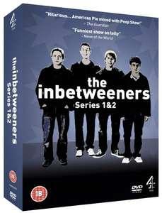 The Inbetweeners Series 1-2 DVD Boxset (£1.27 - Zoverstocks) - Used